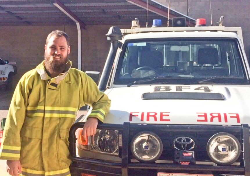 Josh Fischer, Bushfires NT