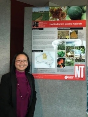 Sarah Tsai, Research Horticulturalist, Alice Springs