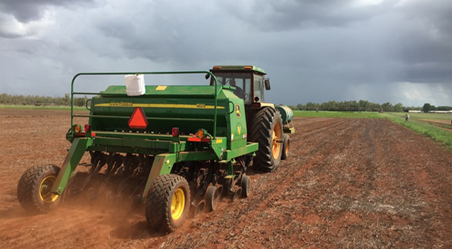 New zero till planter assists cropping program at Katherine Research Station