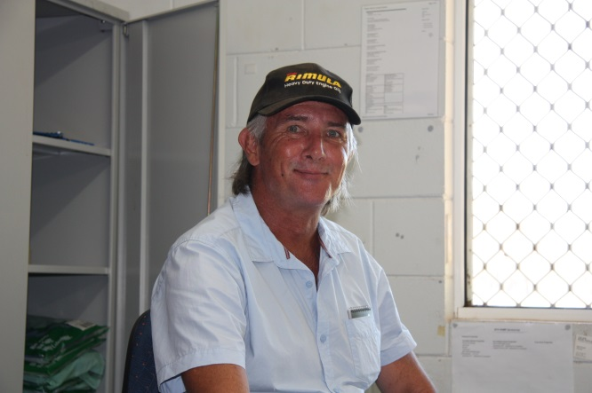 Figure 2: Rod Freeman returns to Katherine Research Station
