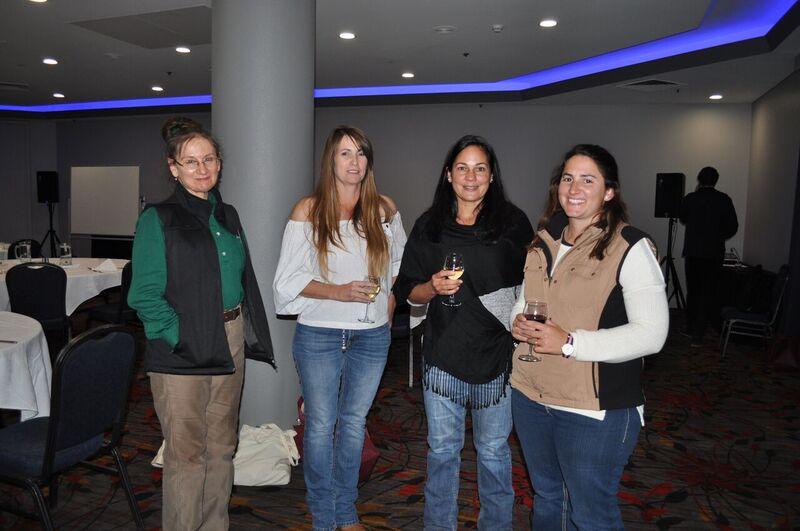 Jocelyn Coventry, DPIR, Nicole Hayes, ASPIAC Chair, Belinda Copper, Joella Klein at the BeefUp Day