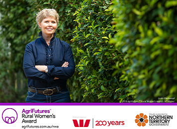 Linda Blackwood - 2018 NT Rural Women's Award winner