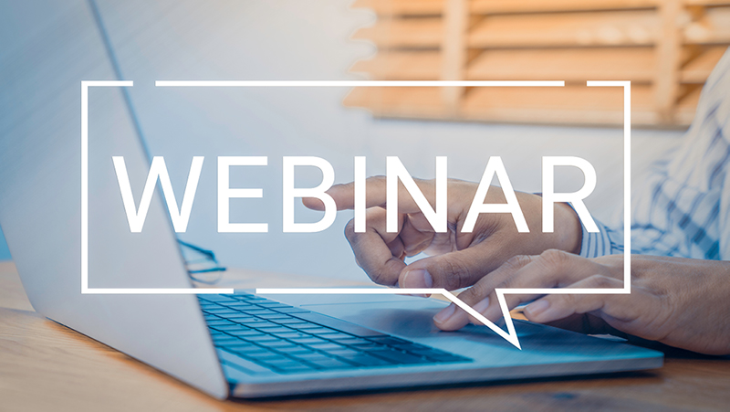 Webinar series, now available online
