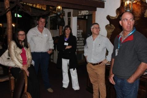Bec & Ben Saint (Kurundi), Alethea Nicolle (Mulga Park), Barry  Gerschwitz (Rabobank), Steve Cadzow (Mt Riddock)