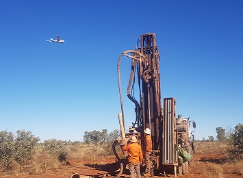 Large-scale geophysical survey underway in the Tanami