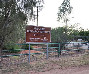 Arid Zone Research Institute temporary relocations