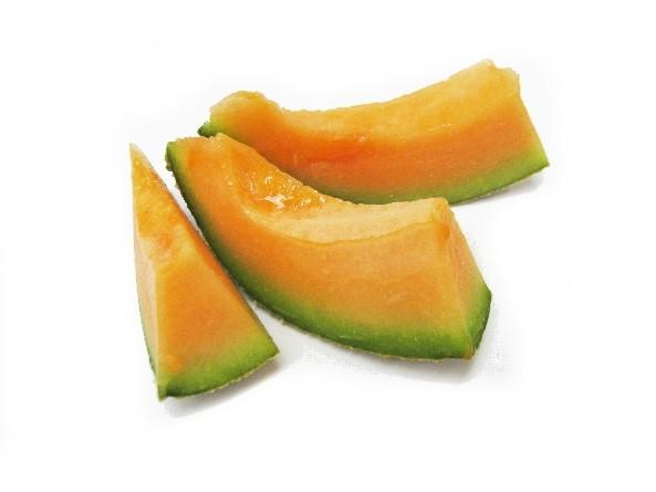 Figure 13. Sliced rockmelon fruit