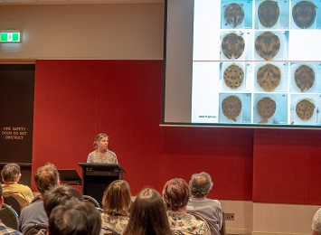 Mary Finlay-Doney gave a presentation on Australasian lady beetles
