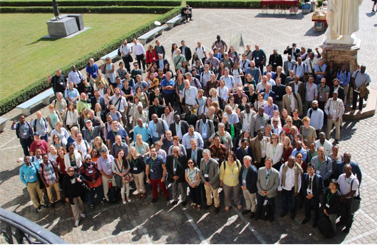 Conference attendees at Humboldt Freie Universitat zu Berlin