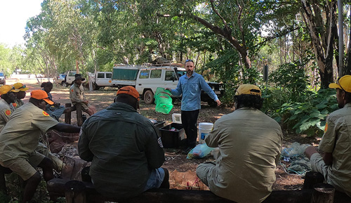 Fisheries training in Arnhem Land