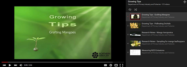 DPIR's Growing Tips videos are a practical learning tool for growers