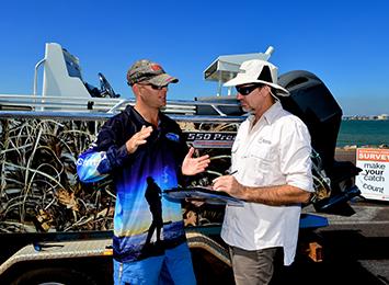 Recreational fishing surveys