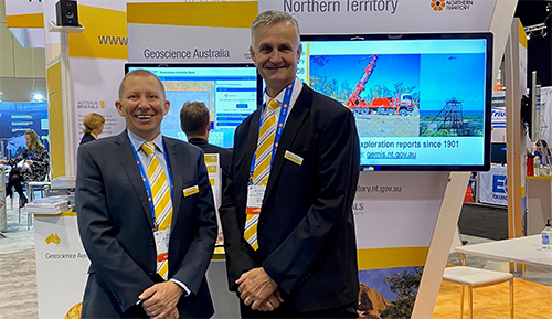 Ian and Armando attending PDAC