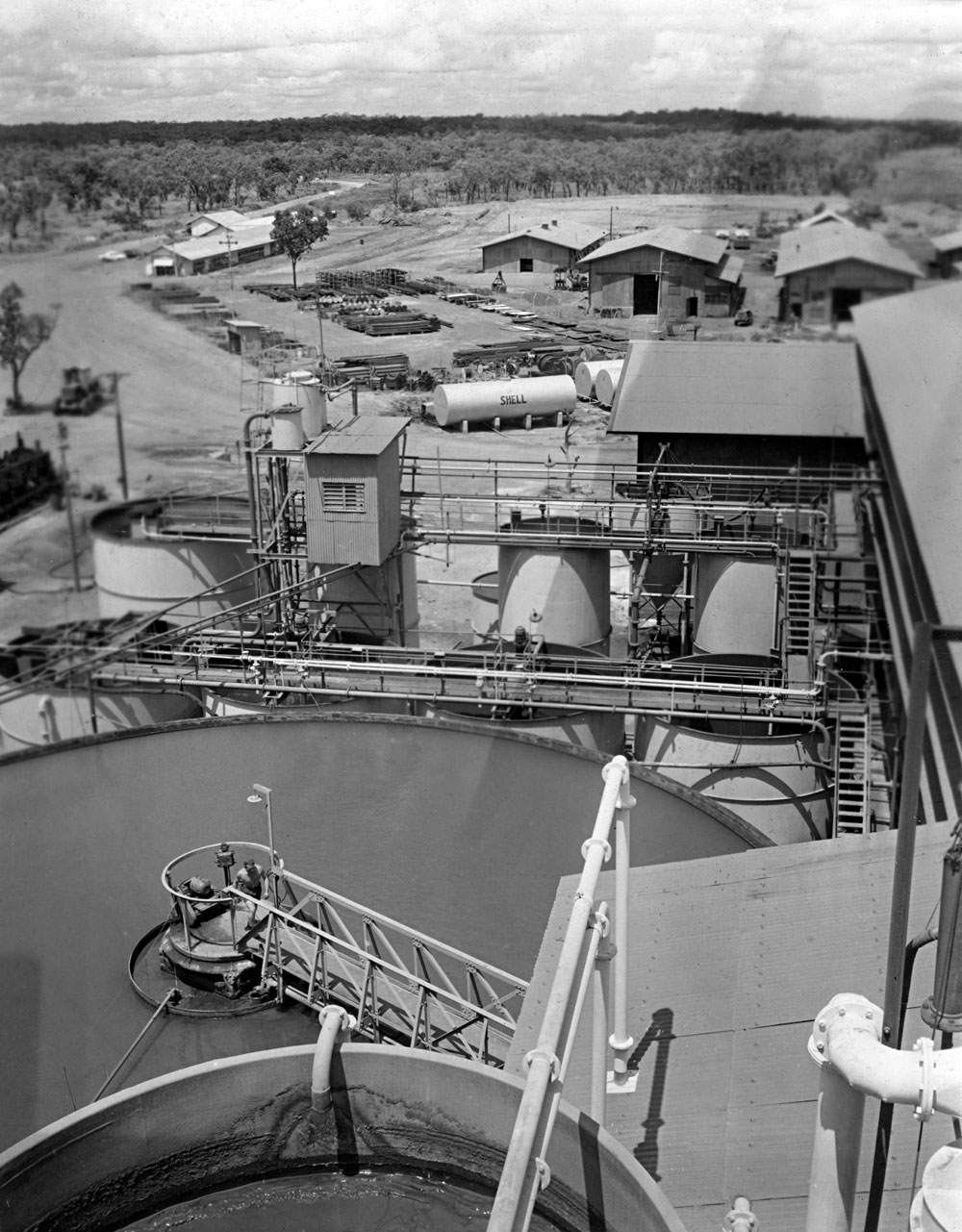 Treatment plant area, Rum Jungle (1958). National Archives of Australia: A1200, L25504