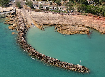 Nightcliff boat ramp